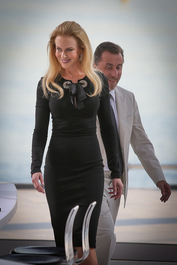 Nicole Kidman Arriving For the Cannes Film Festival