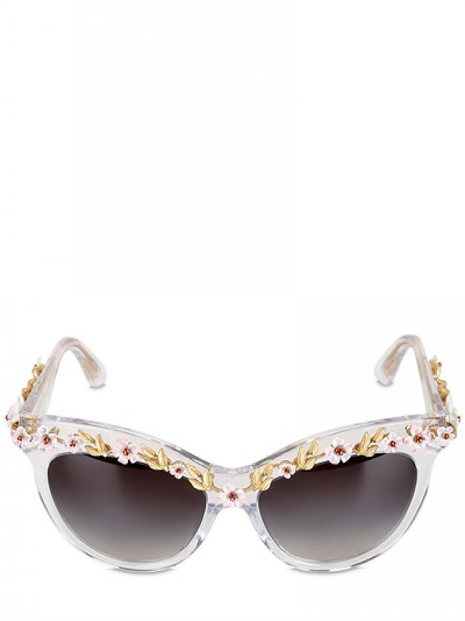 Sunglasses With Flowers