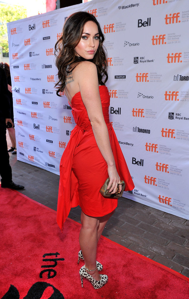 Megan Fox in Thakoon at the 2011 Toronto International Film Festival