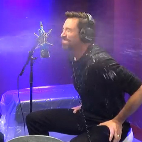 Hugh Jackman Playing Innuendo Bingo on UK Radio