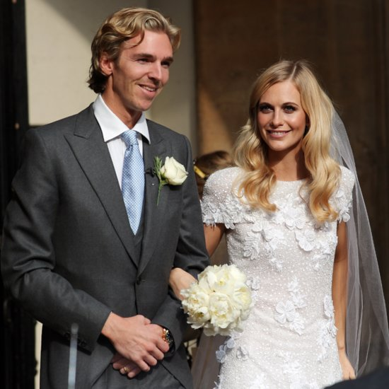 Pictures of Poppy Delevingne's Wedding Dress And Ceremony