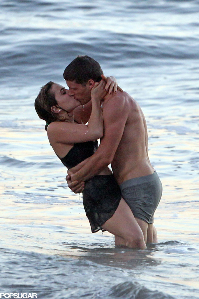 Costars Mae Whitman and Matt Lauria filmed some steamy beach scenes for their show Parenthood in LA back in October 2012.