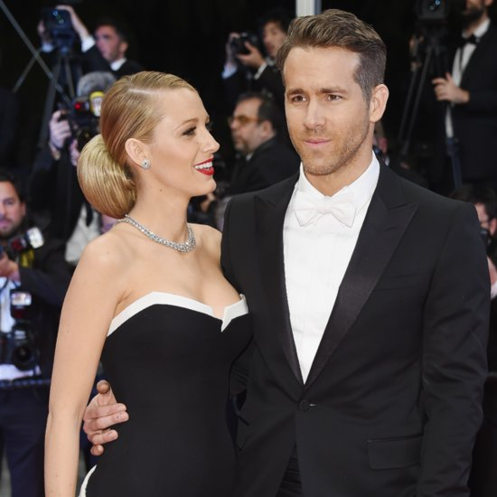 Blake Lively And Ryan Reynolds At 2014 Cannes Film Festival