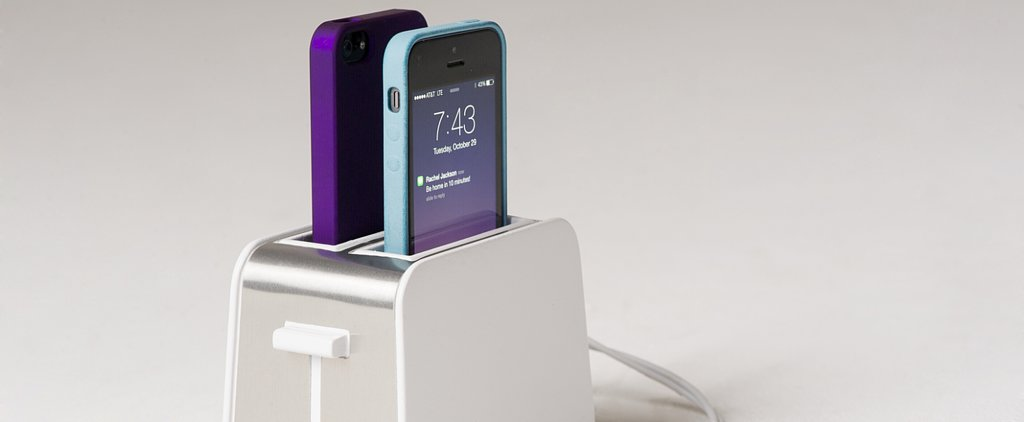 A Toaster Designed Just For Your Phone — Wait, What?!