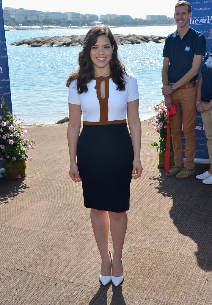 America Ferrera at the American Pavilion Opening