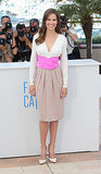 Hilary Swank at <b>The Homesman</b> Photocall