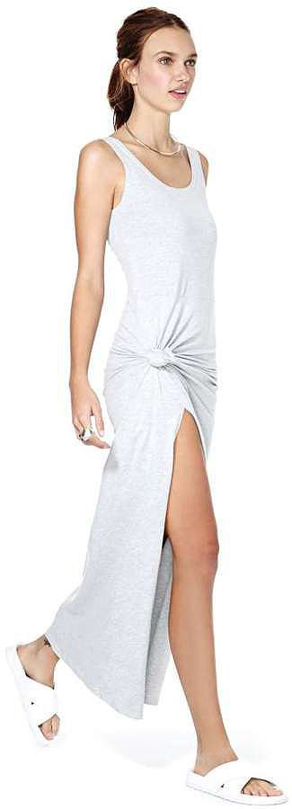 Nasty Gal Knotted Maxi Dress