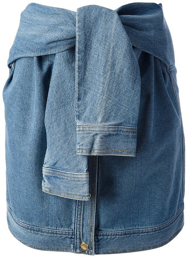 Opening Ceremony DKNY X Denim Skirt