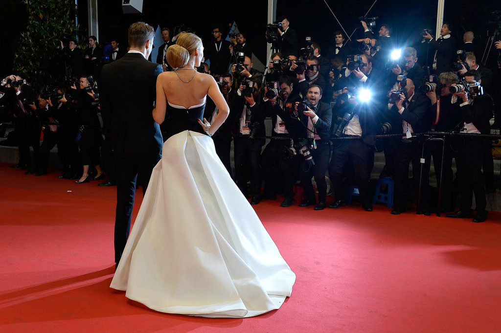 Ryan Reynolds and Blake Lively were the stars of the red carpet at the premiere of Ryan's film The Captive.