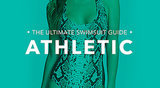 Athletic: You're more straight up-and-down and have fewer curves, like Cameron Diaz, Jessica Biel, and Jennifer Aniston. What to look for: The name of the game is playing up your curves with styles that flaunt your frame. Suits with less coverage help to create the illusion of a shapelier figure. Tips and tricks from Sabra Krock and Leslie Koren, fit and style experts for Everything but Water:  Tops or bottoms with bold prints, ruffles, and embellishments add intrigue and feminine flair and can create the appearance of more curve at top and bottom. Monokinis create fabulous curves, as do one-pieces with slashes or cutouts strategically placed. The smaller the swimsuit bottom, the fuller and curvier the derriere appears. Tie-side bikini bottoms enhance curves and adjust perfectly to your size.