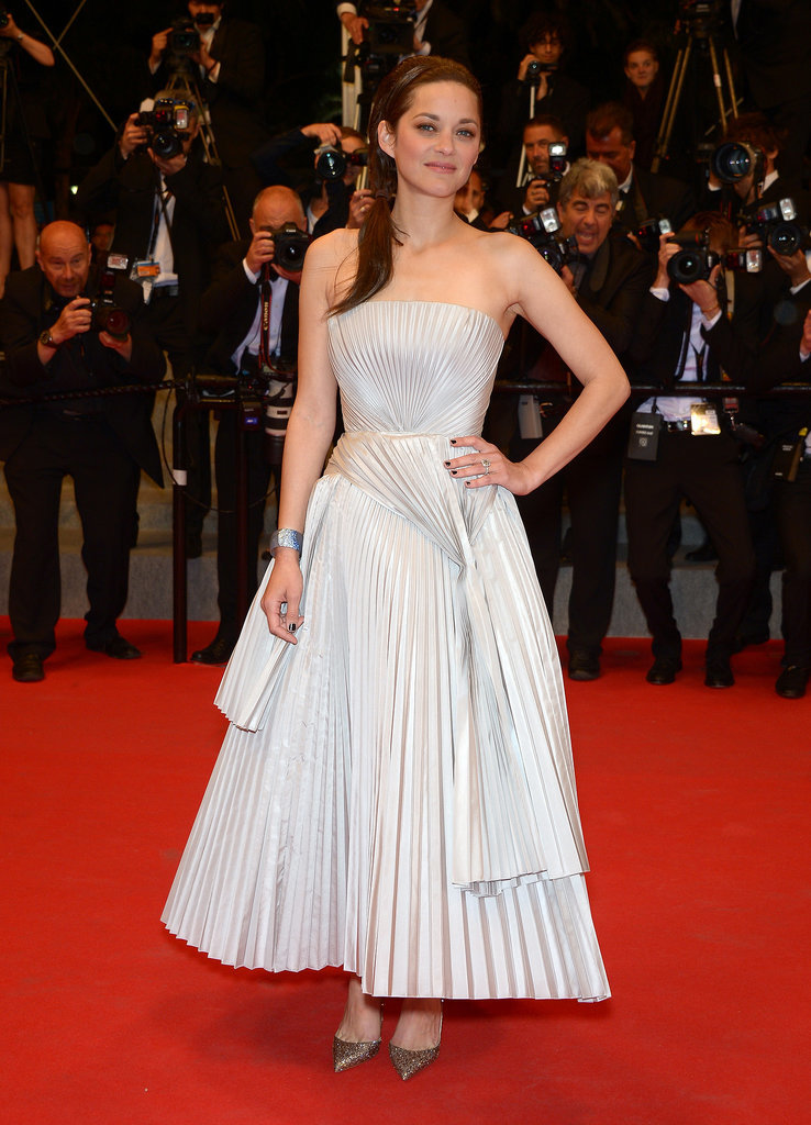 Marion Cotillard at the In the Name of My Daughter Premiere