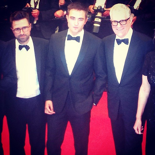 We captured this snap of Robert Pattinson at the premiere for his film The Rover, which was his first of two movies to debut at the festival this year; he also costars in Maps to the Stars.