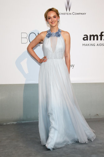 Jess Weixler at the amfAR Cinema Against AIDS Gala