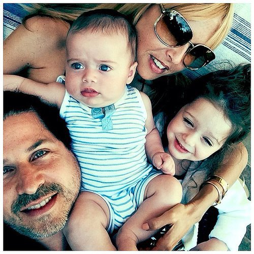 Rachel Zoe shared a fun family selfie from over the weekend. Source: Instagram user rachelzoe