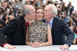 Marion Cotillard was in the middle of a costar sandwich during a photocall for Two Days, One Night.