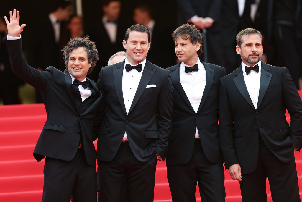 The men of Foxcatcher suited up for their big premiere.
