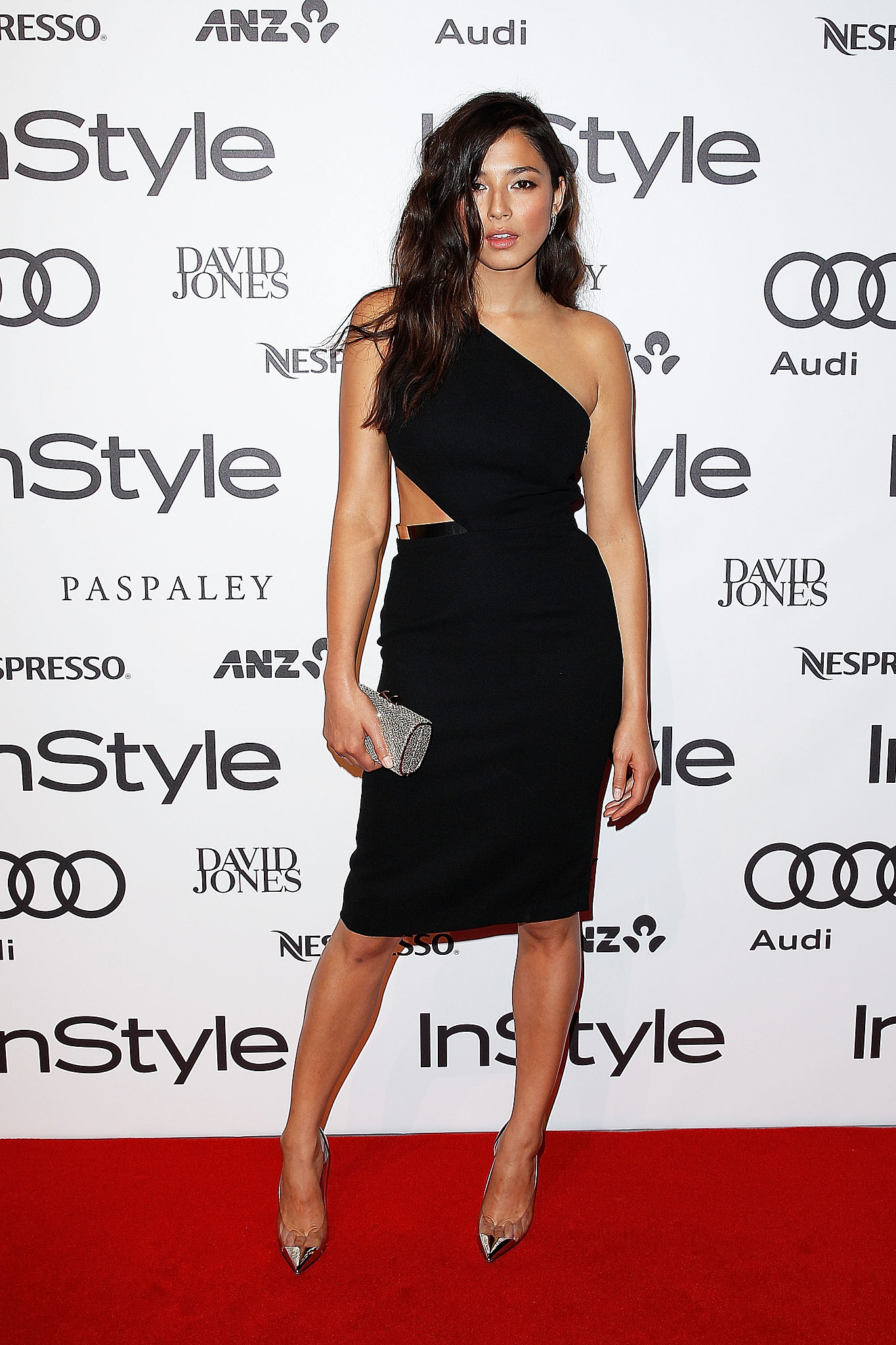 Dress and Christian Louboutin Shoes at the 2014 Instyle Women of Style