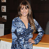 Lea Michele Headed to LA — and She Brought Her Legs With Her