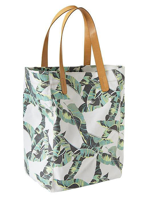 Gap Printed Canvas Tote