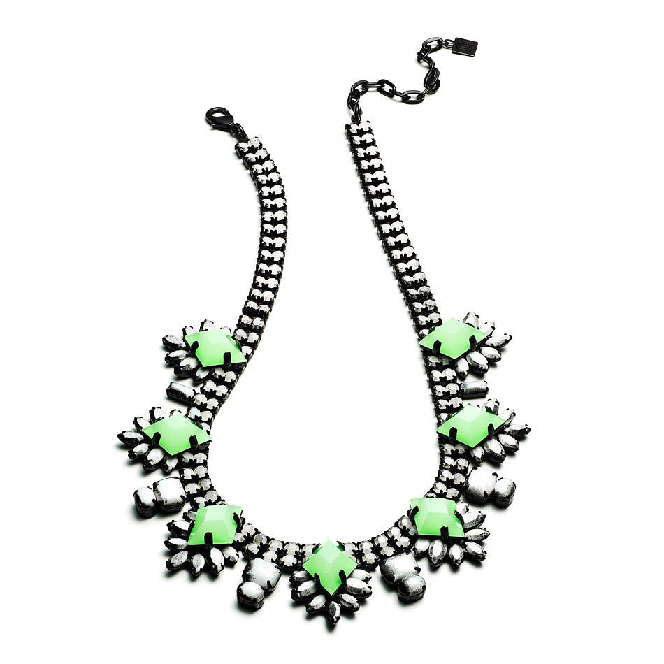 Dannijo Jeweled Necklace