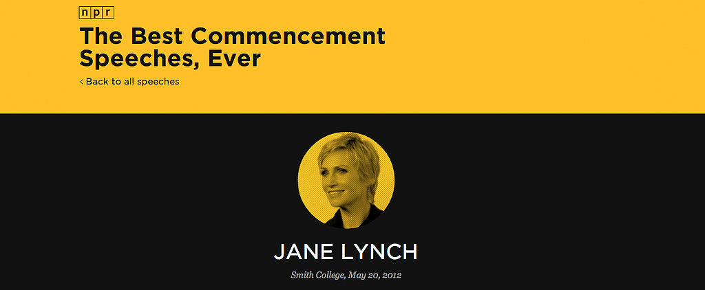 "All the Most Inspiring ""YOLO"" Commencement Speeches on the Web"
