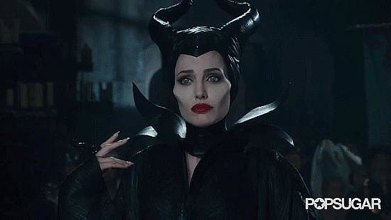 And it was all leading to Maleficent and the sinister smile only the ultimate villain could offer.