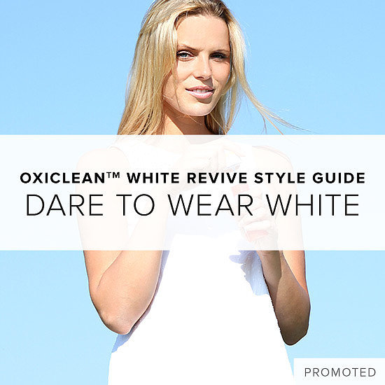 Dare to Wear White With OxiClean White Revive