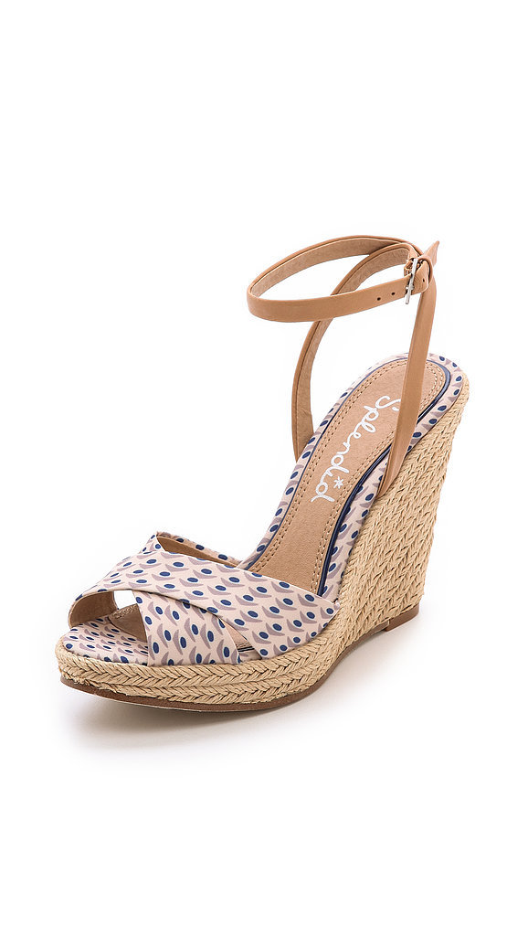 Splendid Printed Espadrille Wedges