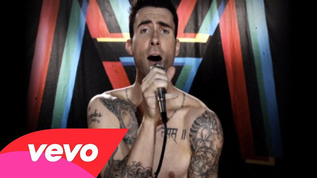 """Moves Like Jagger"" by Maroon 5 featuring Christina Aguilera"
