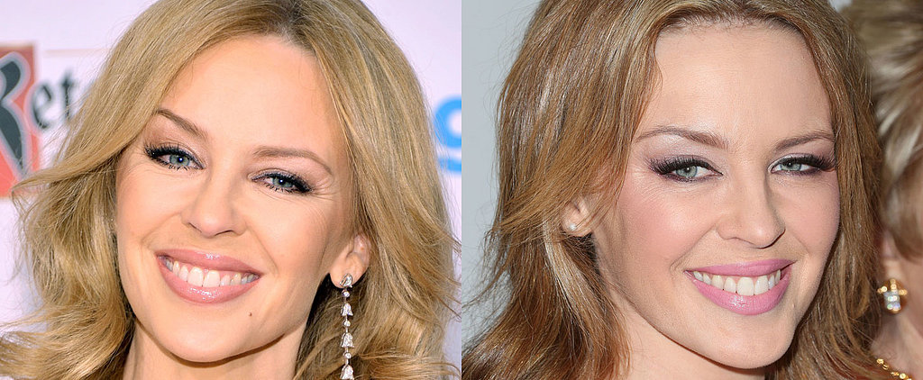 Forget the Hot Pants, We Can't Get Enough of Kylie Minogue's Hair and Makeup
