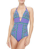Nanette Lepore Printed One-Piece