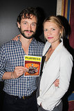 Hugh Dancy and his wife, Claire Danes, posed backstage on Monday at A Gentleman's Guide to Love and Murder in NYC.