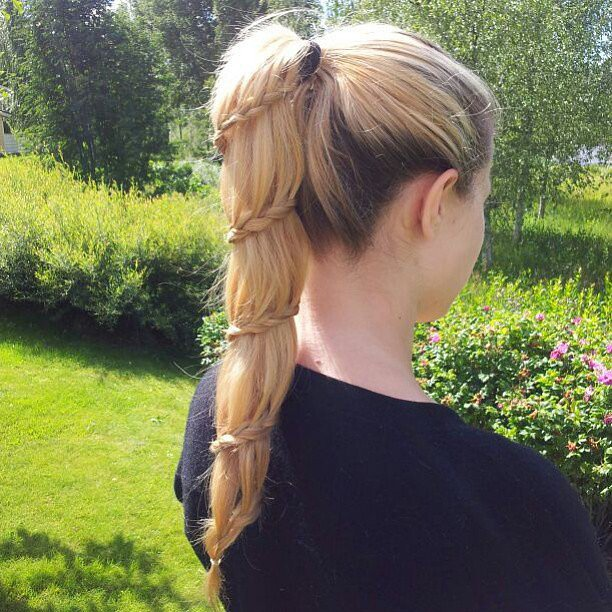Pony Spiral Braid