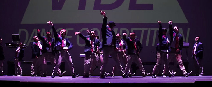 This Dance Crew's Routine Will Seriously Blow You Away