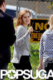 Emma Watson Wastes No Time Getting Back to Work After Graduation