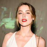 Amber Heard's Red Lipstick Look Screams Sex Appeal