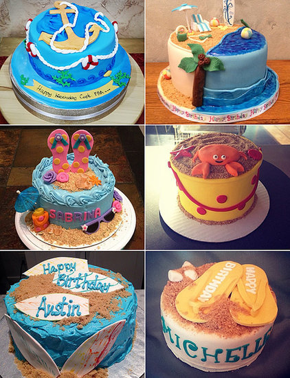 Life's a Beach! 25 Sweet Cakes For Your Summer Baby