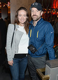On Thursday, Olivia Wilde and Jason Sudeikis posed at a Supermensch: The Legend Of Shep Gordon screening in NYC.