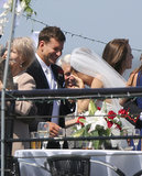 Bradley and Sienna's Hot Wedding Kiss Is Very Convincing