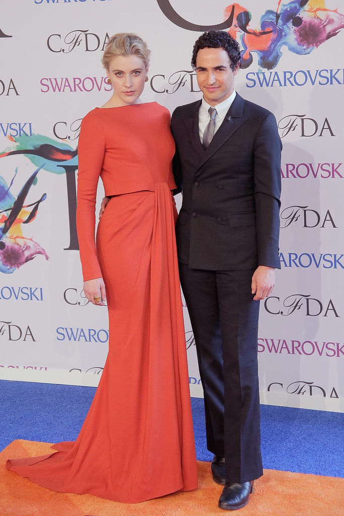 Greta Gerwig at the 2014 CFDA Awards