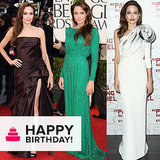Angelina Jolie: A Story of Striking Silhouettes and Thigh-High Slits