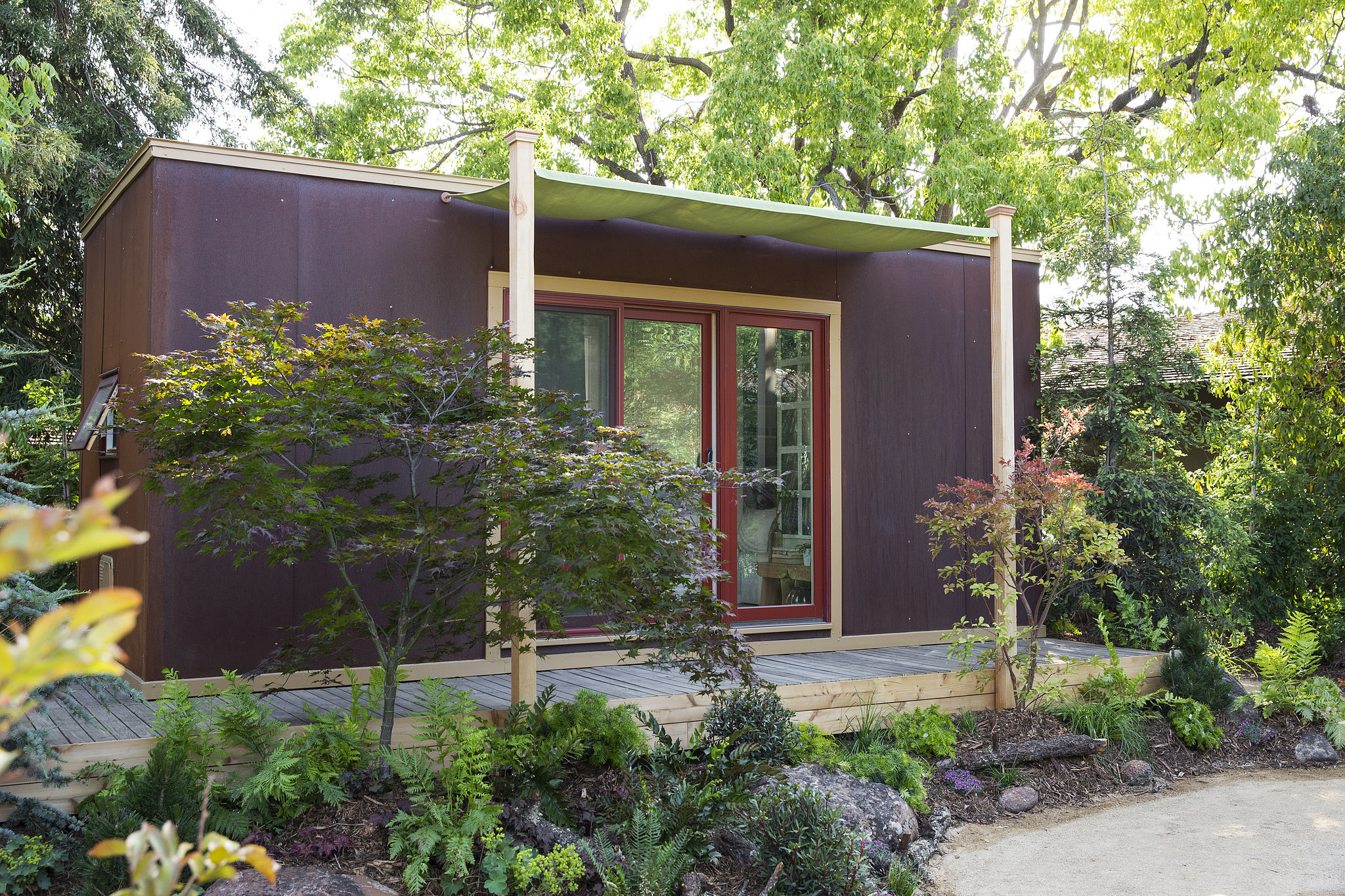 Tiny House Sunset Magazine Popsugar Home