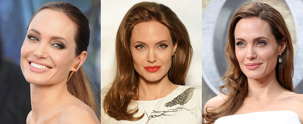 Angelina Jolie's Sexiest Red Carpet Hair and Makeup Moments