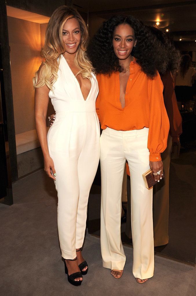 Beyoncé and Solange Knowles brought sister power to the event.
