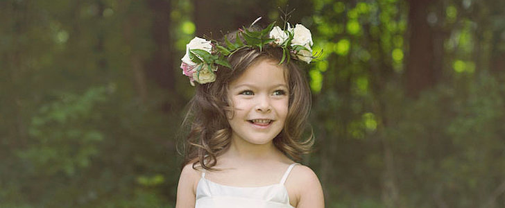 8 Gorgeous Hairstyles For Little Flower Girls
