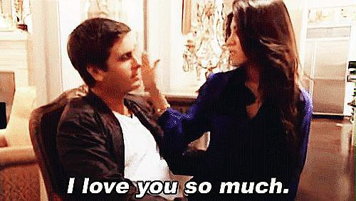 "Scott and Kourtney eventually split once again shortly after Mason was born. Scott sought treatment for his issues with anger and alcohol, and opened up about how he had treated Kourtney ""poorly"" in the past. The couple eventually got back together after Scott vowed to change his ways. Source: E!"
