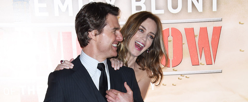 Emily Blunt Almost Killed Tom Cruise, For Real