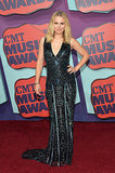 Kristen Bell in Zuhair Murad at the CMT Music Awards.