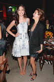 Emmy Rossum and Keri Russell cracked up at an event in NYC on Wednesday.