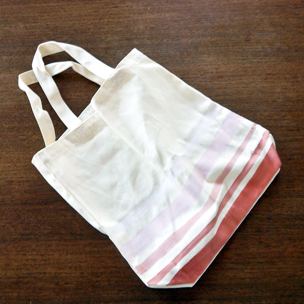 Ombré Painted Canvas Tote